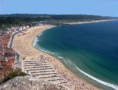 Nazare is a must in the sightsseing tours of the surroundings of Lisbon