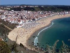 Nazare seen from Sitio