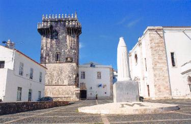 Historical accommodation in Portugal: Estremoz - Rainha Santa Isabel pousada.