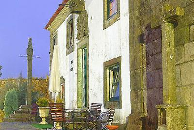 Historical accommodation in Portugal: Inn of Vila Nova de Cerveira - D.Diniz pousada.