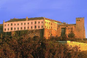 Historical accommodation in Portugal: Palmela - Castelo de Palmela pousada.